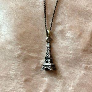 Jewelry - Sterling Silver 925 Eiffel Tower Pendant